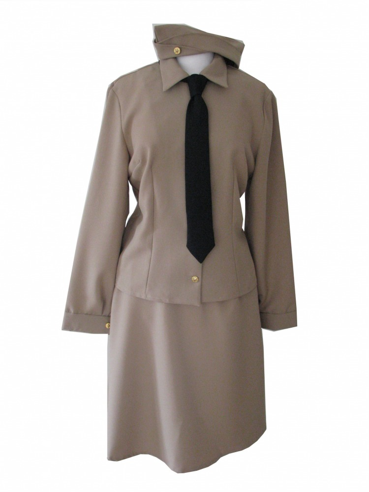 Ladies 1940s Wartime Andrews Sisters Costume Size 10-12 Image