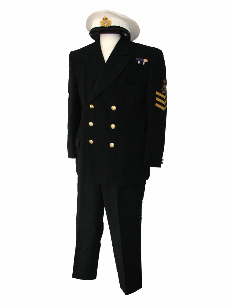 Men's 1940s Royal Navy Petty Officer Uniform Image