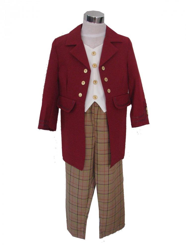 Boy's Victorian Edwardian Costume Image
