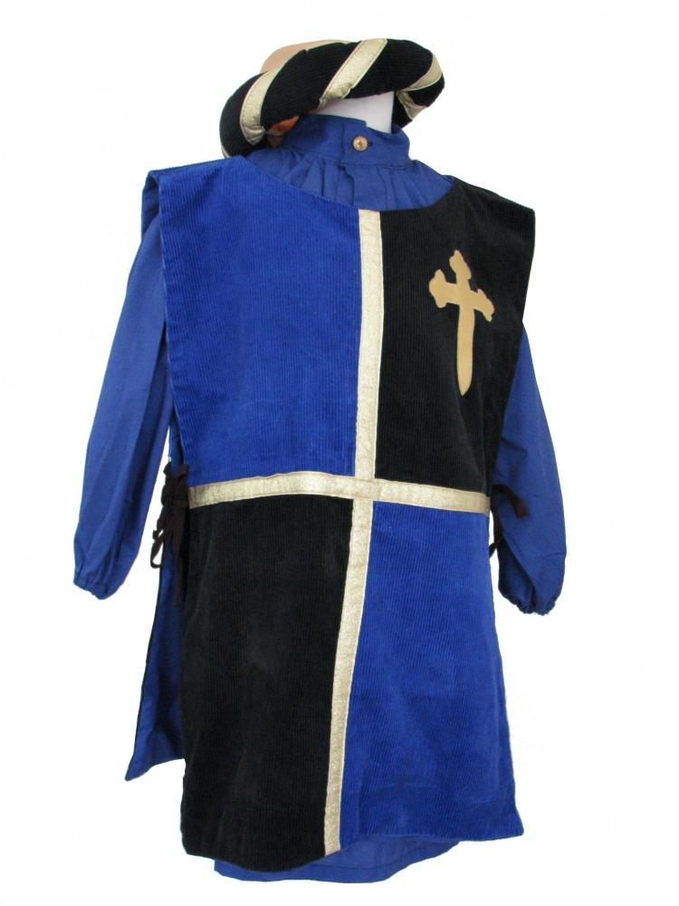 Boy's Medieval Peasant Tabard Costume Image