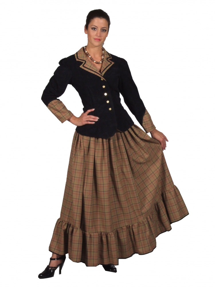 Ladies Victorian Day Costume - Complete Costumes Costume Hire