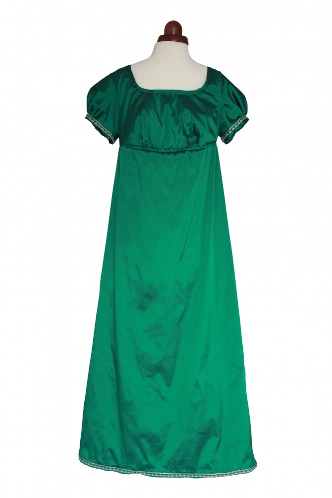 297d594fb896 Ladies 18th 19th Regency Jane Austen Costume Evening Ball Gown Size 12 - 14  Image