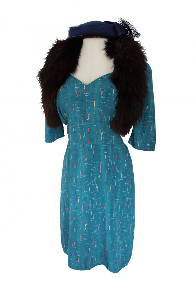 Ladies 1940s Wartime Costume Size 18 - 20 Image