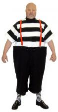 Mens Tweedle Dee Alice in Wonderland Costume