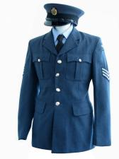 Men's 1940s Wartime RAF Uniform Jacket Chest 36""