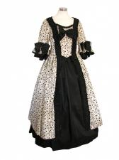 Deluxe Ladies 18th Century Marie Antoinette Masked Ball Costume 8 - 10