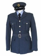 "Men's 1940s Wartime RAF Uniform Jacket Chest 38"""