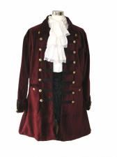 Men's Deluxe 18th Century Masked Ball Costume Size Large
