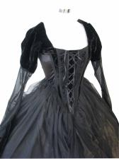 Ladies 18th Century Marie Antoinette Masked Ball Victorian Costume