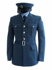 "Men's 1940s Wartime RAF Uniform Jacket Chest 36"""