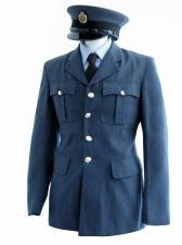 "Men's 1940s Wartime RAF Uniform Jacket Chest 32"""