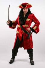 Men's Quality Jack Sparrow Pirates of the Carribean Costume