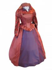 Ladies Tudor Elizabethan Costume and headdress Size 10 - 12