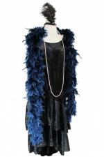 Ladies 1920s 1930s Flapper Charleston Costume Size 16 - 20