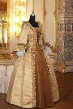Deluxe Ladies 18th Century Marie Antoinette Masked Ball Costume Size 14 - 18