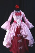 Girl's Marie Antoinette Georgian Victorian Costume