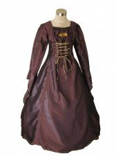 Girl's Deluxe Medieval Tudor Costume Age 10 - 12 Years