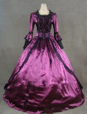 Ladies 18th Century Marie Antoinette Masked Ball Victorian Costume Size 10 - 12