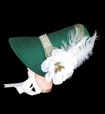 Ladies Deluxe Jane Austen Regency Bonnet