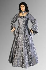 Ladies Medieval Renaissance Costume And Headdress Size 22 - 24
