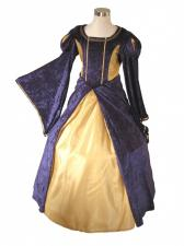 Girl's Deluxe Medieval Tudor Costume Age 10 - 11 Years