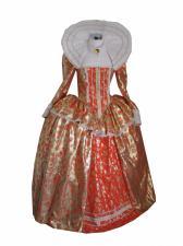 Ladies Elizabethan Tudor Queen Elizabeth 1 Costume Size 14