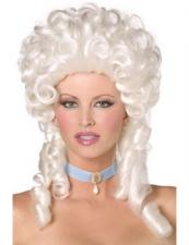 Ladies Marie Antoinette Masked Ball Georgian Wig