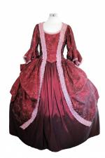Deluxe Ladies 18th Century Marie Antoinette Costume Size 10 - 12