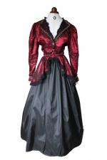 Ladies Deluxe Victorian Edwardian Day Costume Size 12 - 14