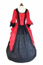 Deluxe Ladies 18th Century Marie Antoinette Masked Ball Costume Size 20 - 22