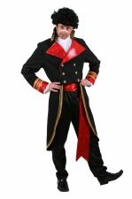Mens 1980s Adam Ant Prince Charming Costume