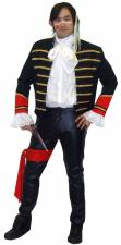Mens 1980s Adam Ant Ant Music Fancy Dress Costume