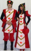 Men's Ladies' Alice In Wonderland Cheshire Cat Mascot Padded Deluxe Costume