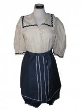 Ladies 1920s 1930s Bathing Belle Costume Size 10 - 12